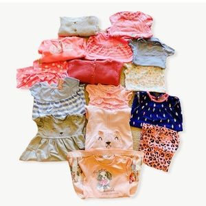 H& M 24 months baby girl bundle -15 items